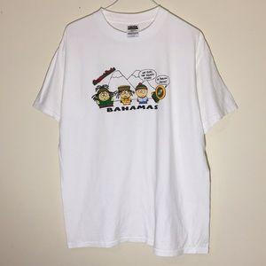 Vintage 1990s South Park Bahamas T-Shirt